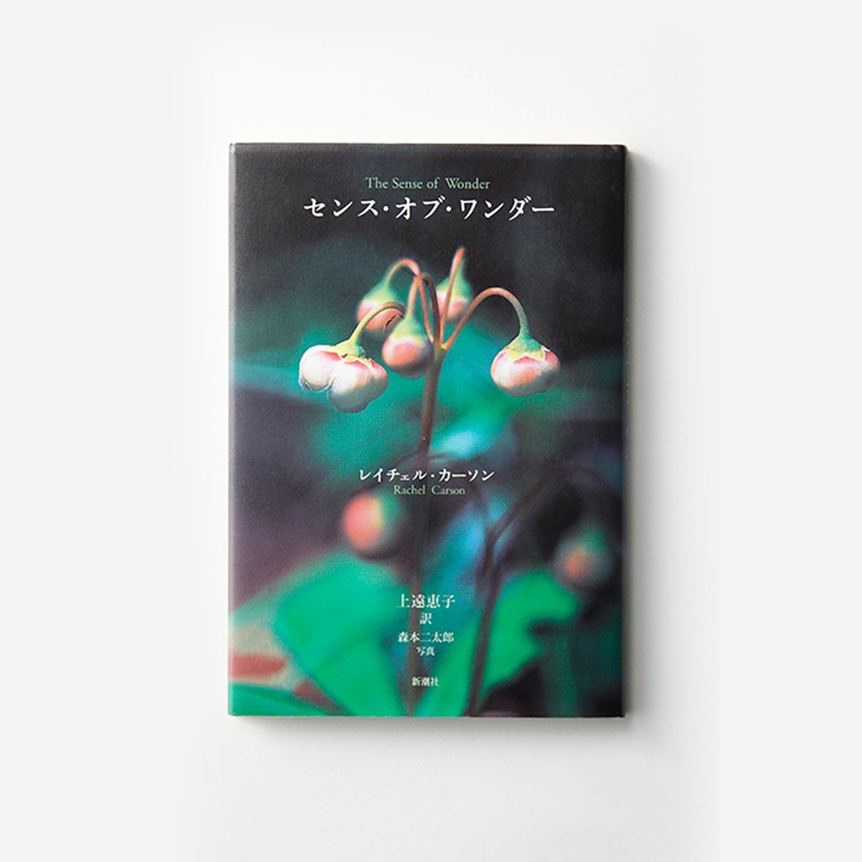 「センス・オブ・ワンダー」 レイチェル・カーソン 著 上遠恵子 訳 森本二太郎 写真 (新潮社)